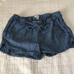 J. Crew Chambray Shorts - Size XS
